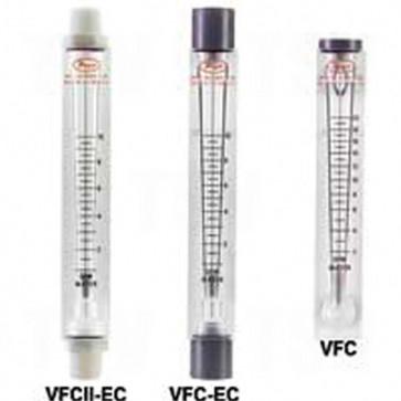 """VFC In-Line Flow Meter - 5"""" Scale (No Valve)"""