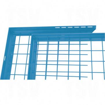 Wire Mesh Partition Components - Adjustable Filler Panels