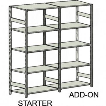 Easy-Up 5000 Shelving