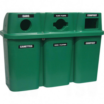 Recycling Containers Bullseye™