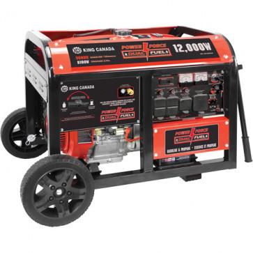 Gasoline/Propane Generator with Electric Start