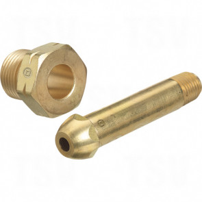 Regulator Nuts & Nipples, Brass & Stainless Steel