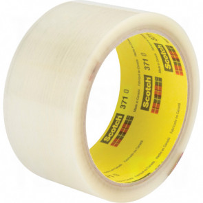 SCOTCH(R) PACKAGING TAPE;3710 CLEAR, 48 MM X 50