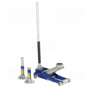 Aluminum Service Jack and Stand Pack