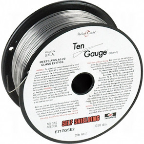 Ten Gauge™ E71TGS Flux-Cored Welding Wire