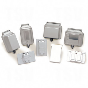 Raintight While-In-Use Covers - Duplex Receptacle, Extra Deep