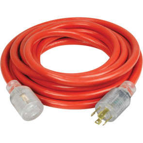 Generator Extension Cord with Quad Tap