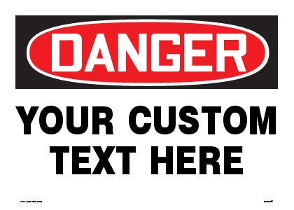 Custom Sign Creation